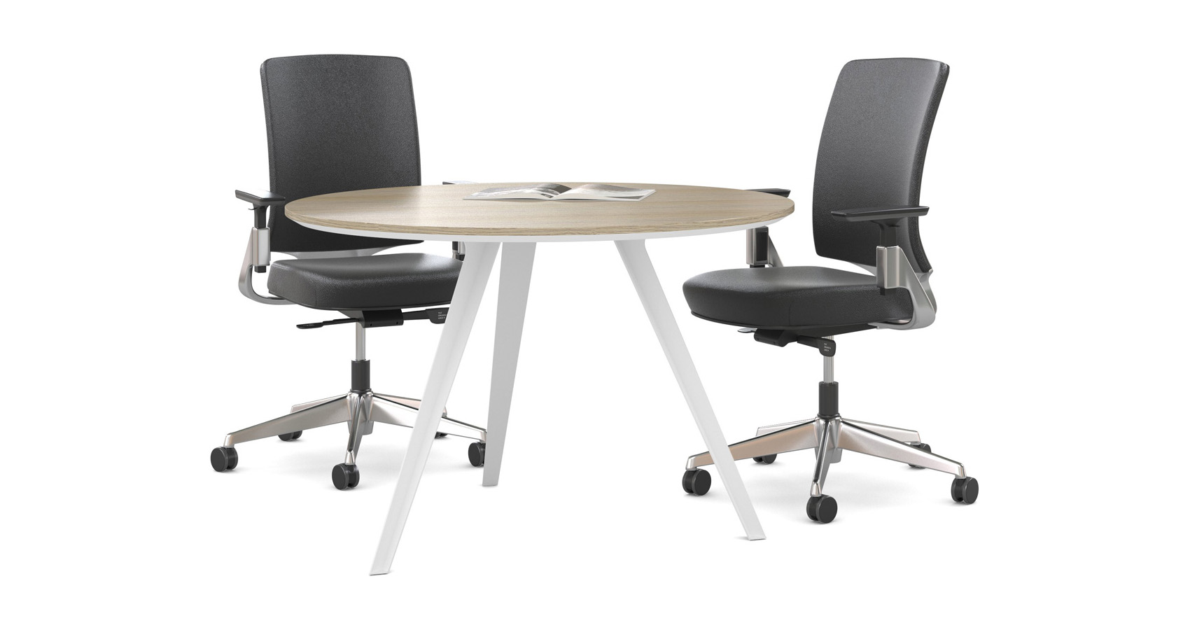 Dart_Round_Conference_Table_White_MiroS