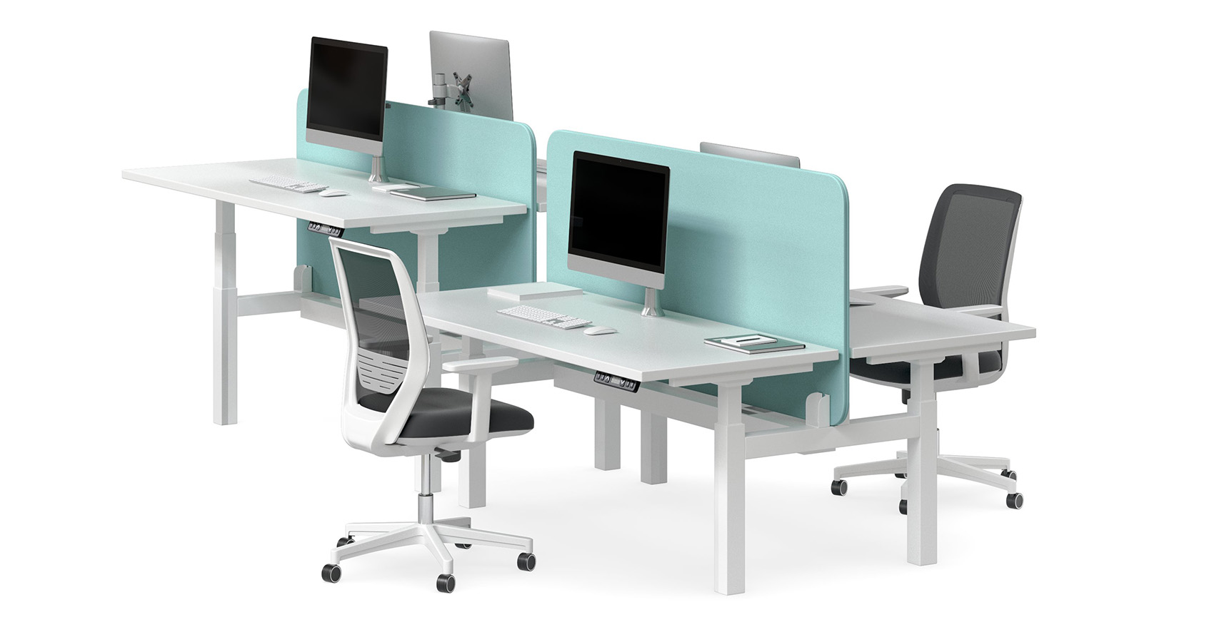 Swish Height Adjustable Workstations Krost Business