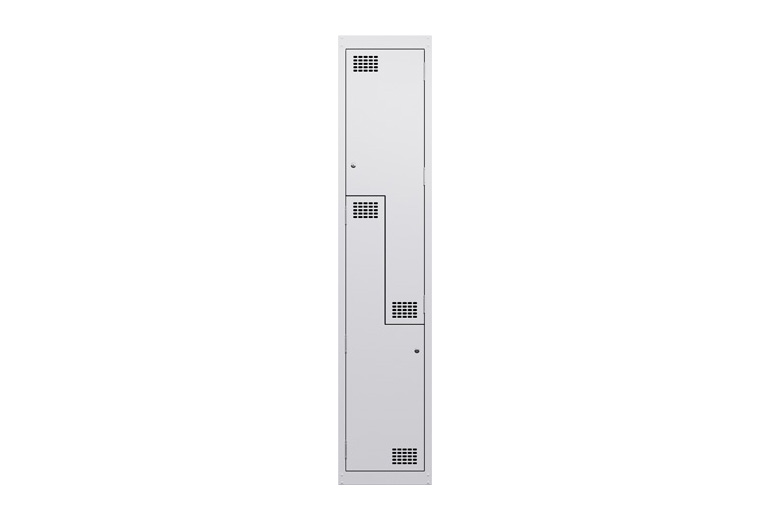 Landing_Steel_lockers_2puzzle_door_white