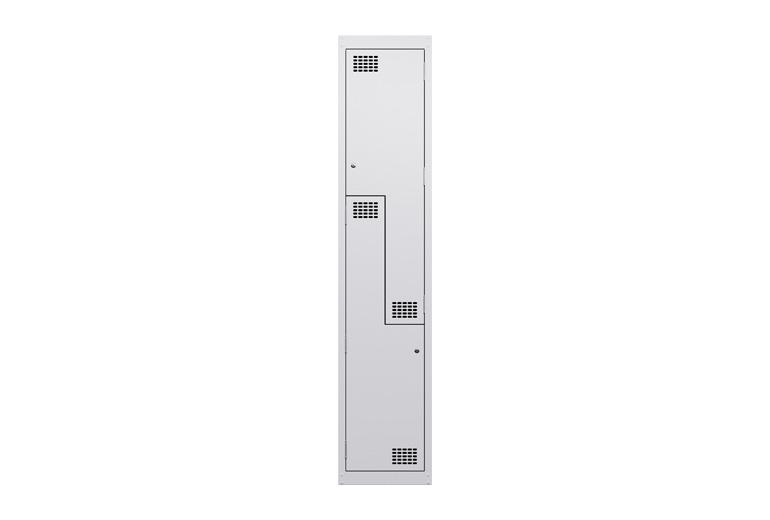 Landing_Steel_lockers_2puzzle_door_white
