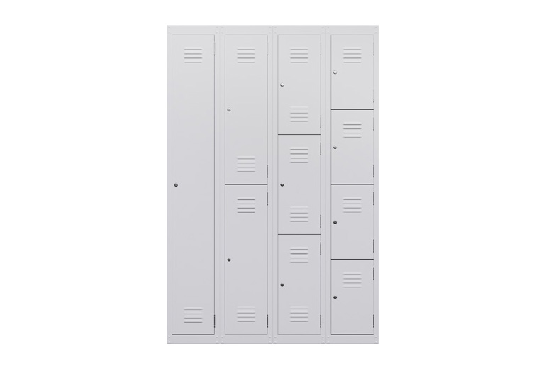 Landing_Steel_lockers_setting_white