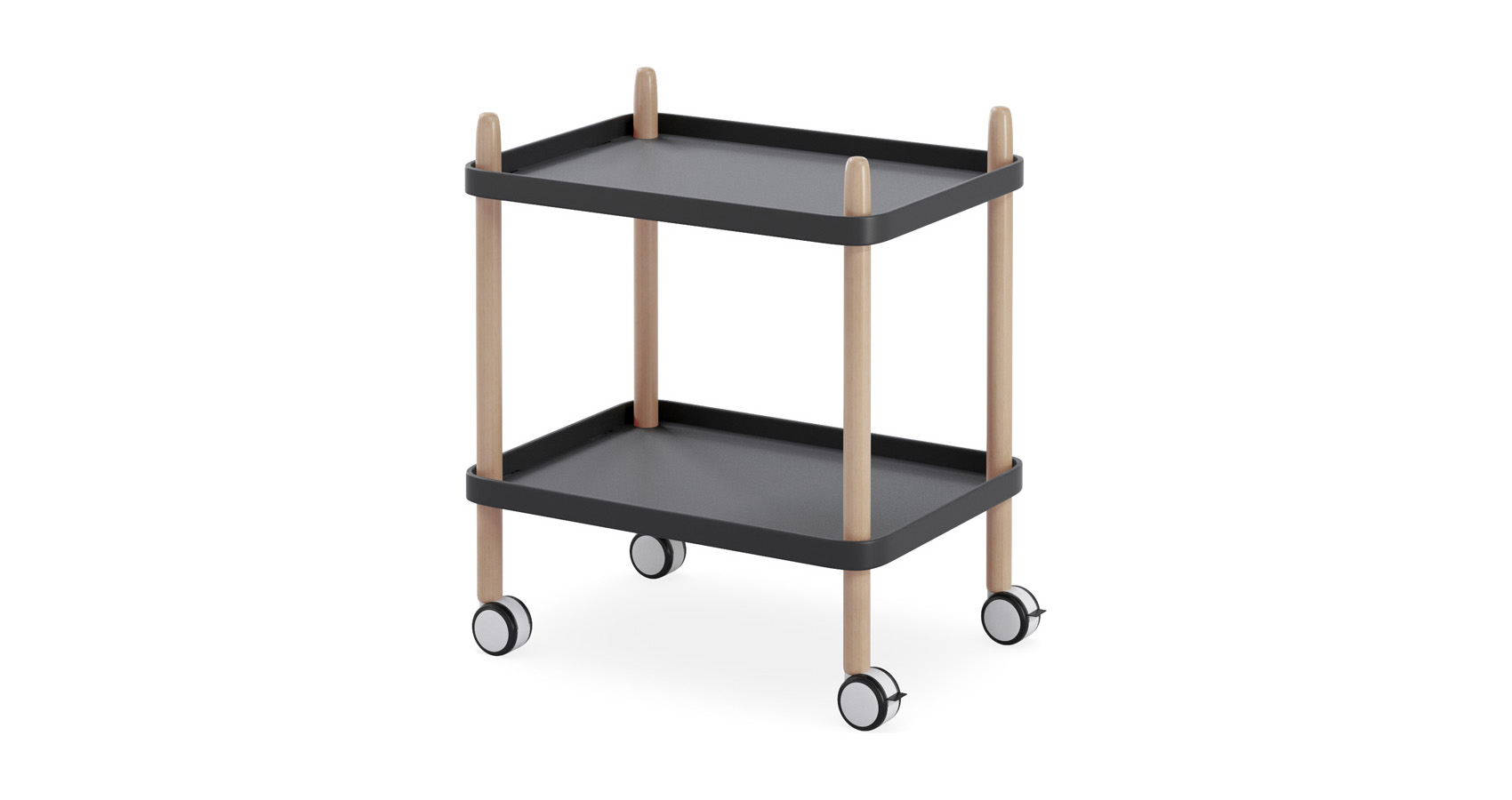 Enzo Trolley Black