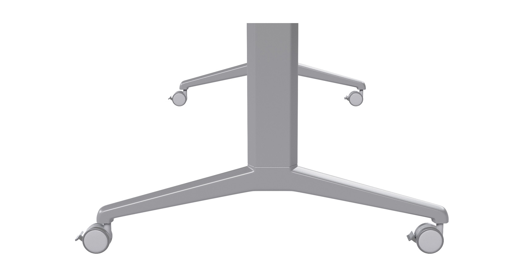 Flip Folding Table Leg Detail