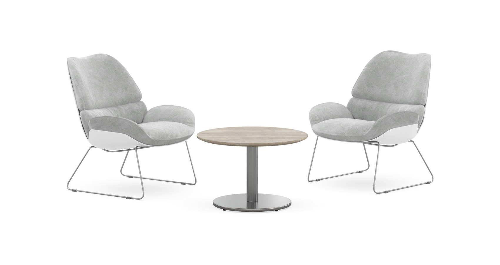 Halo Coffee Table with Jena Chairs