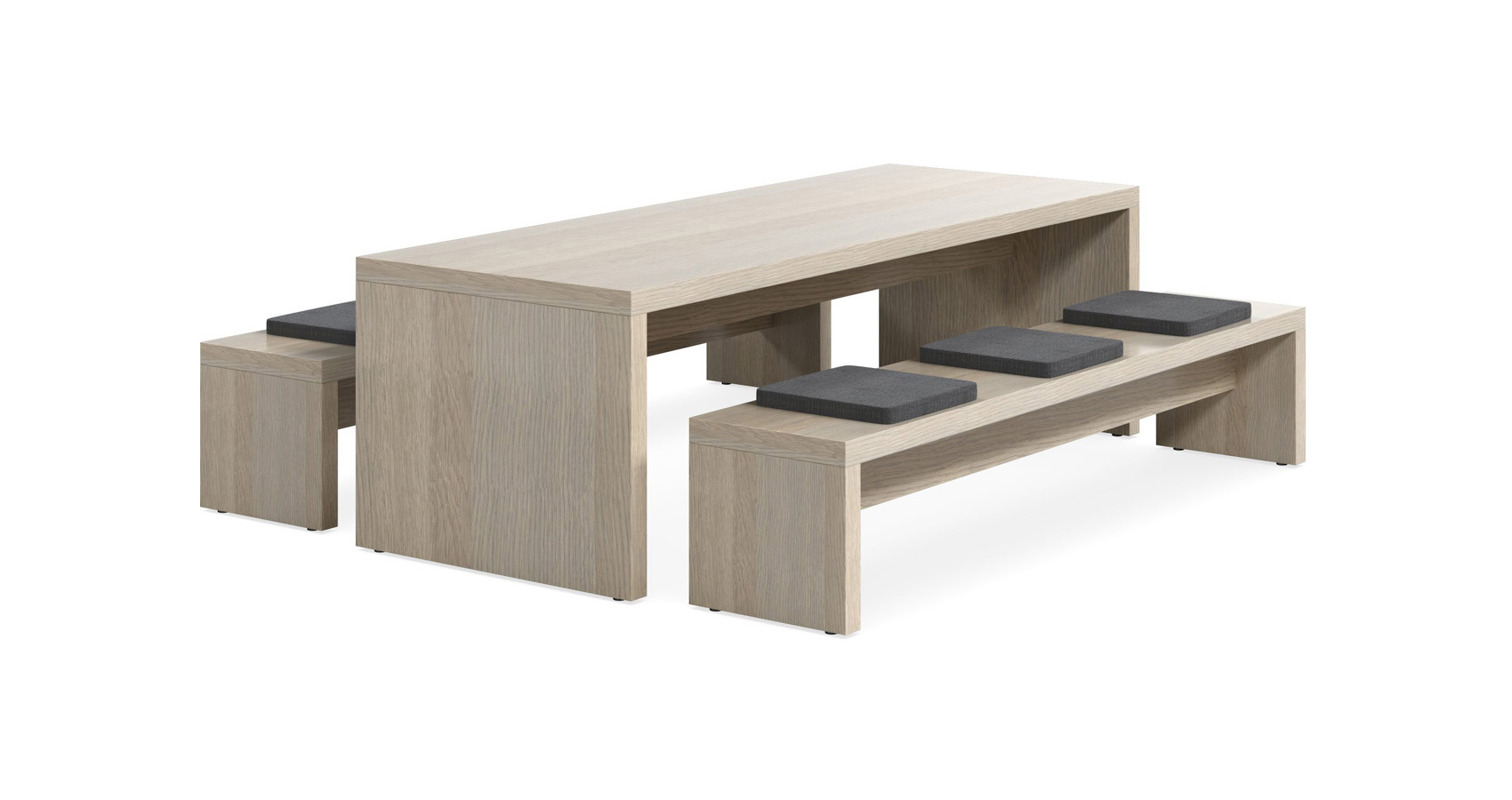 Jive Table with Bench seats