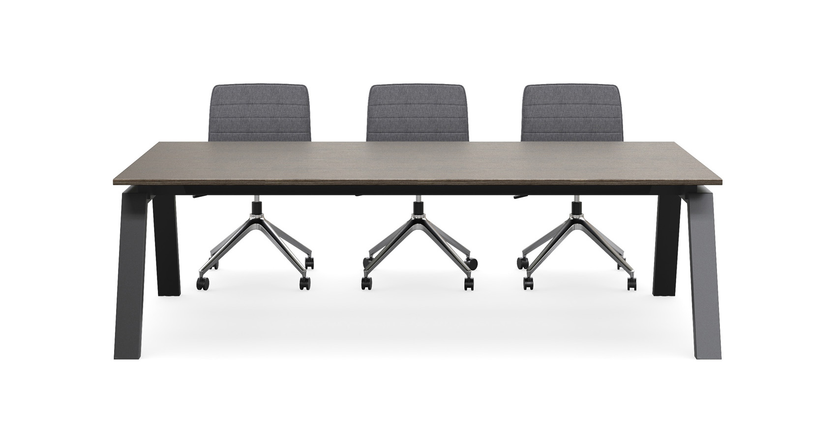 Keywork Meeting Table with Alex chairs