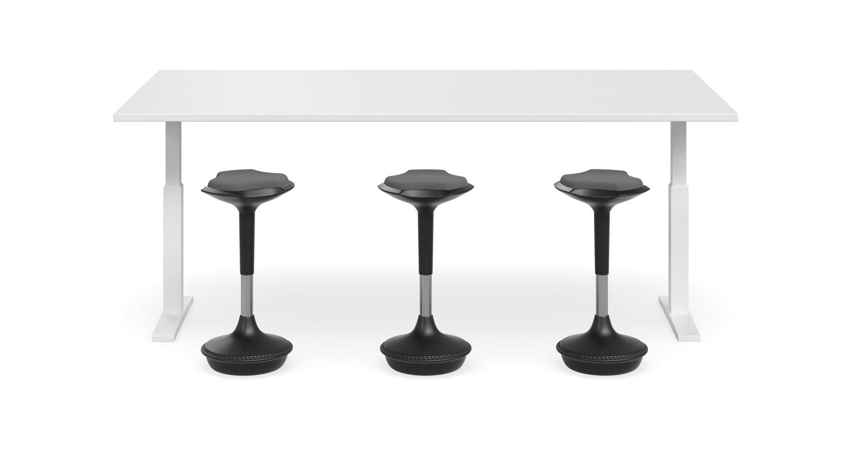 Swish Height Adjustable Table Krost Business Furniture - Height adjustable meeting table