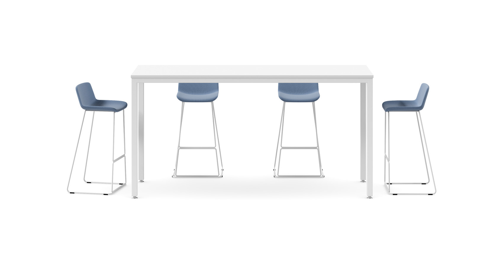 Uno Counter Table with Zorro stools