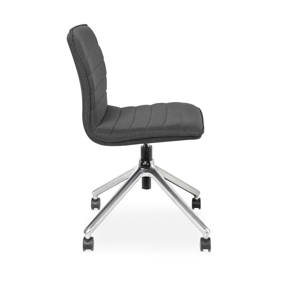 Alex chair charcoal fabric SV