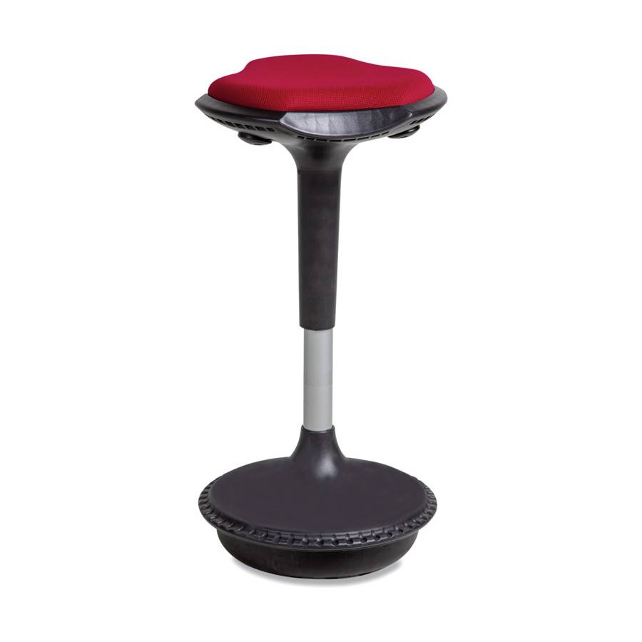 Balance Stool Medium Red