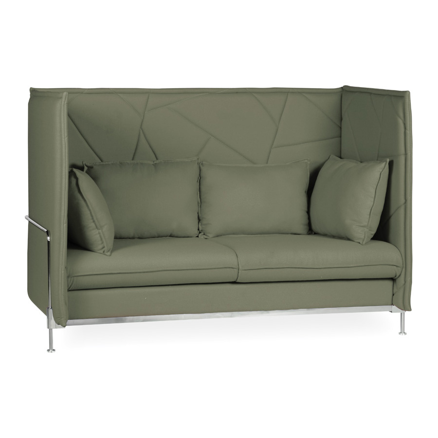 Hush High Back Khaki 3 seater FV