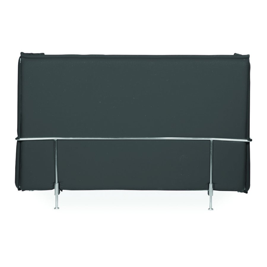 Hush High Back Charcoal 3 Seater DBV