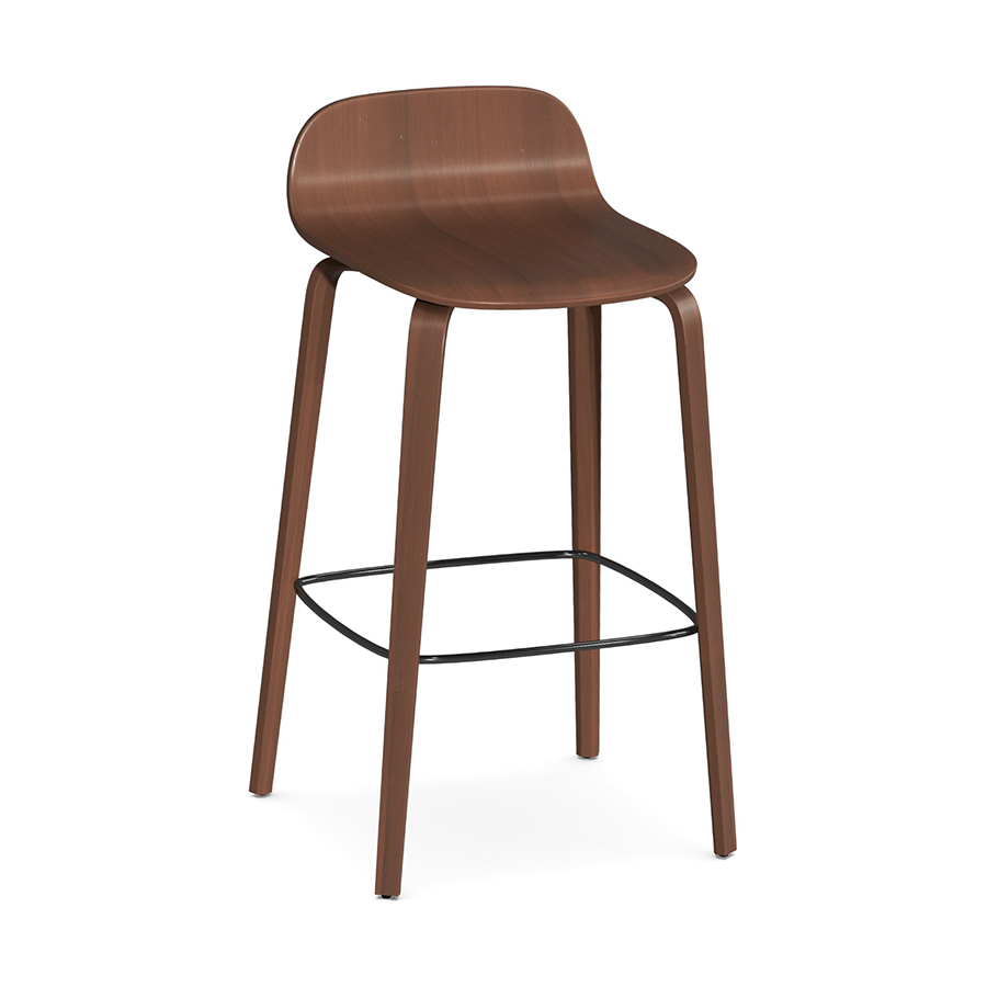 Indi Stool Walnut FV