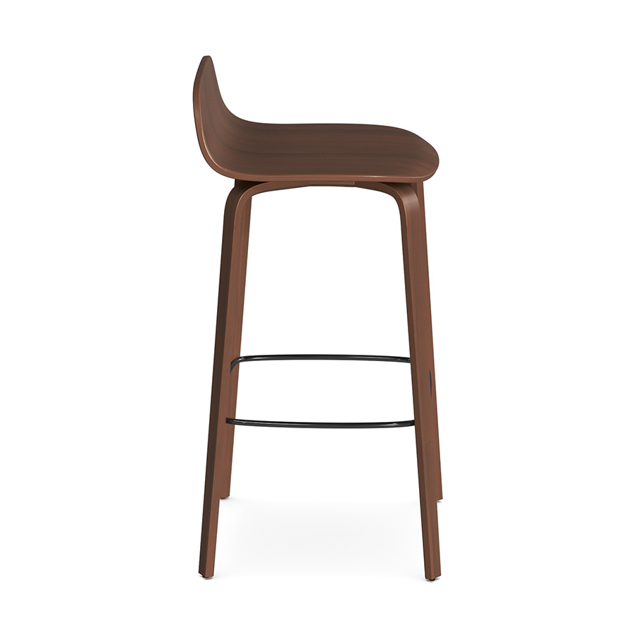 Indi Stool Walnut BV
