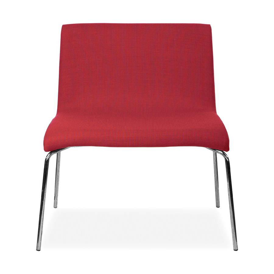 Leo 4 Leg Chair Red DFV