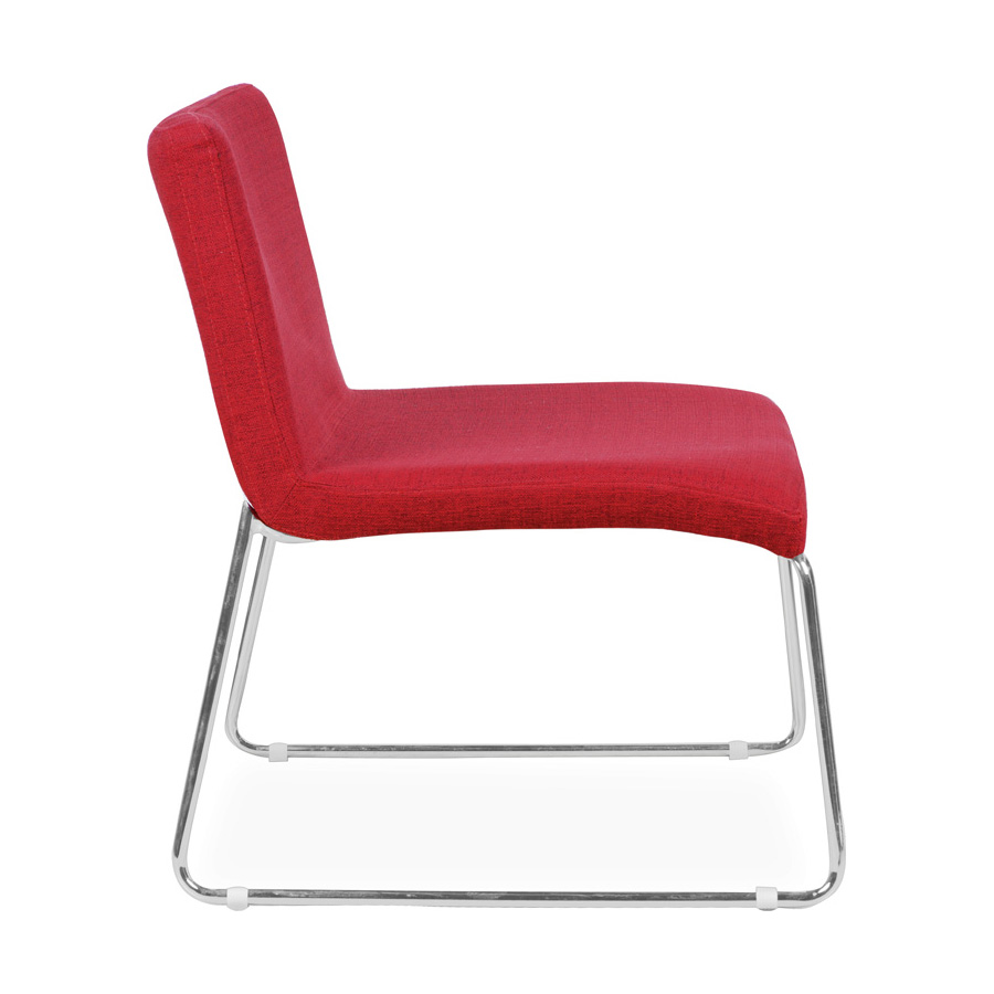 Leo Sled Base Chair Red SV