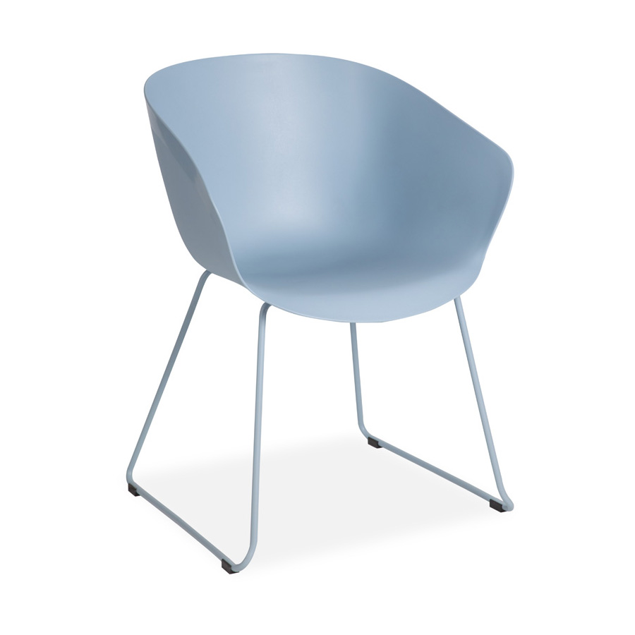Madi Plastic Chair Blue FV
