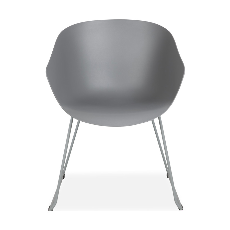 Madi Plastic Chair Grey DFV