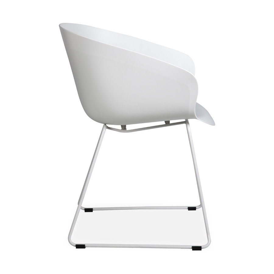 Madi Plastic Chair White SV