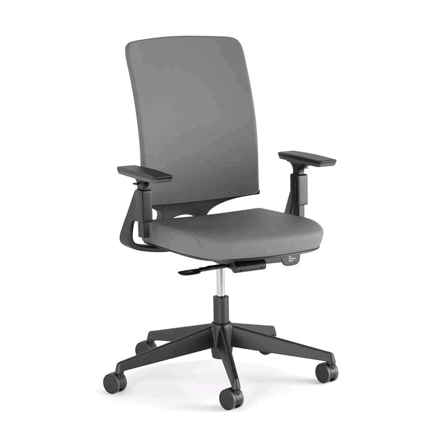 MM200G-Miro - Grey Fabric Seat-Grey Mesh Back