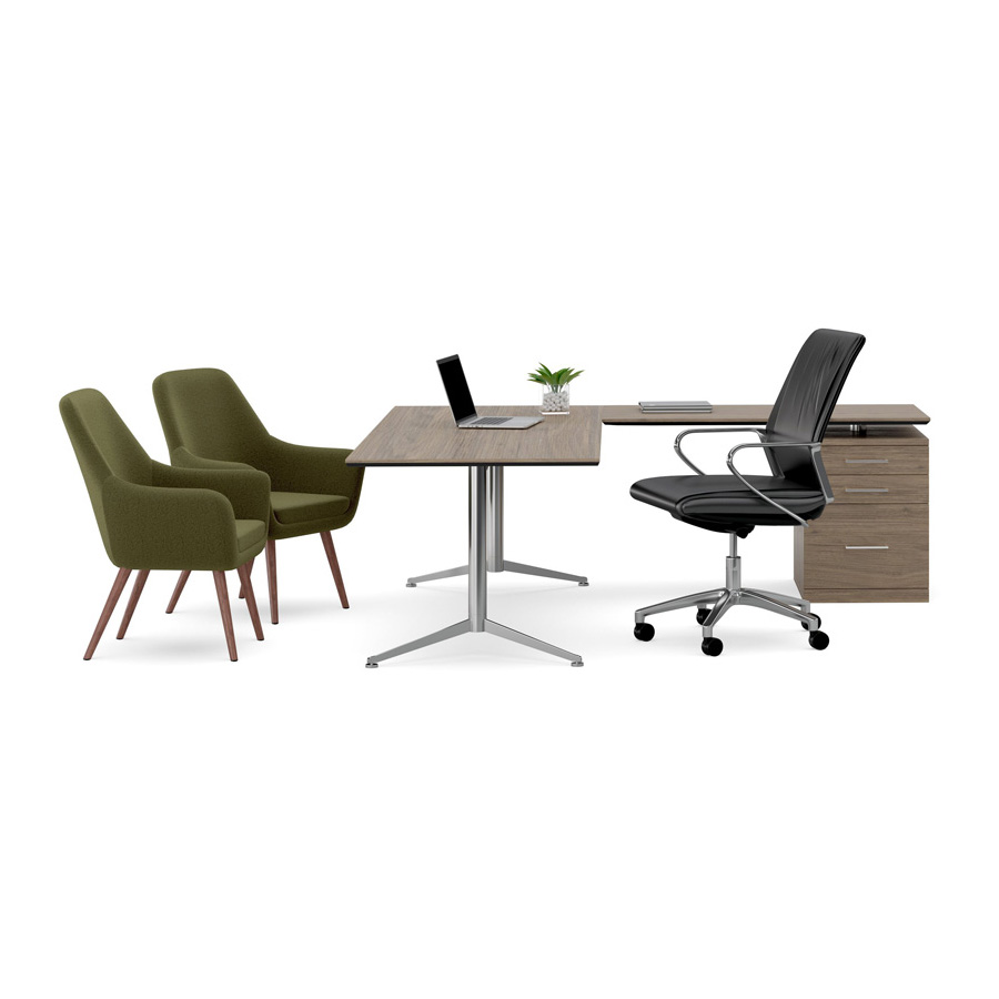 Cooper Chair Oslo Desk Setting