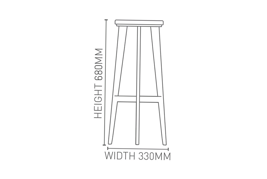 Pac Krost Business Furniture – High Chair Dimensions