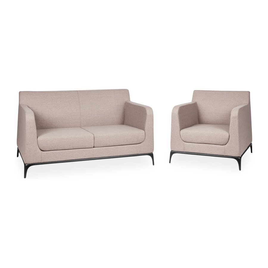 Tex 1 and 2 Seater Setting Oatmeal