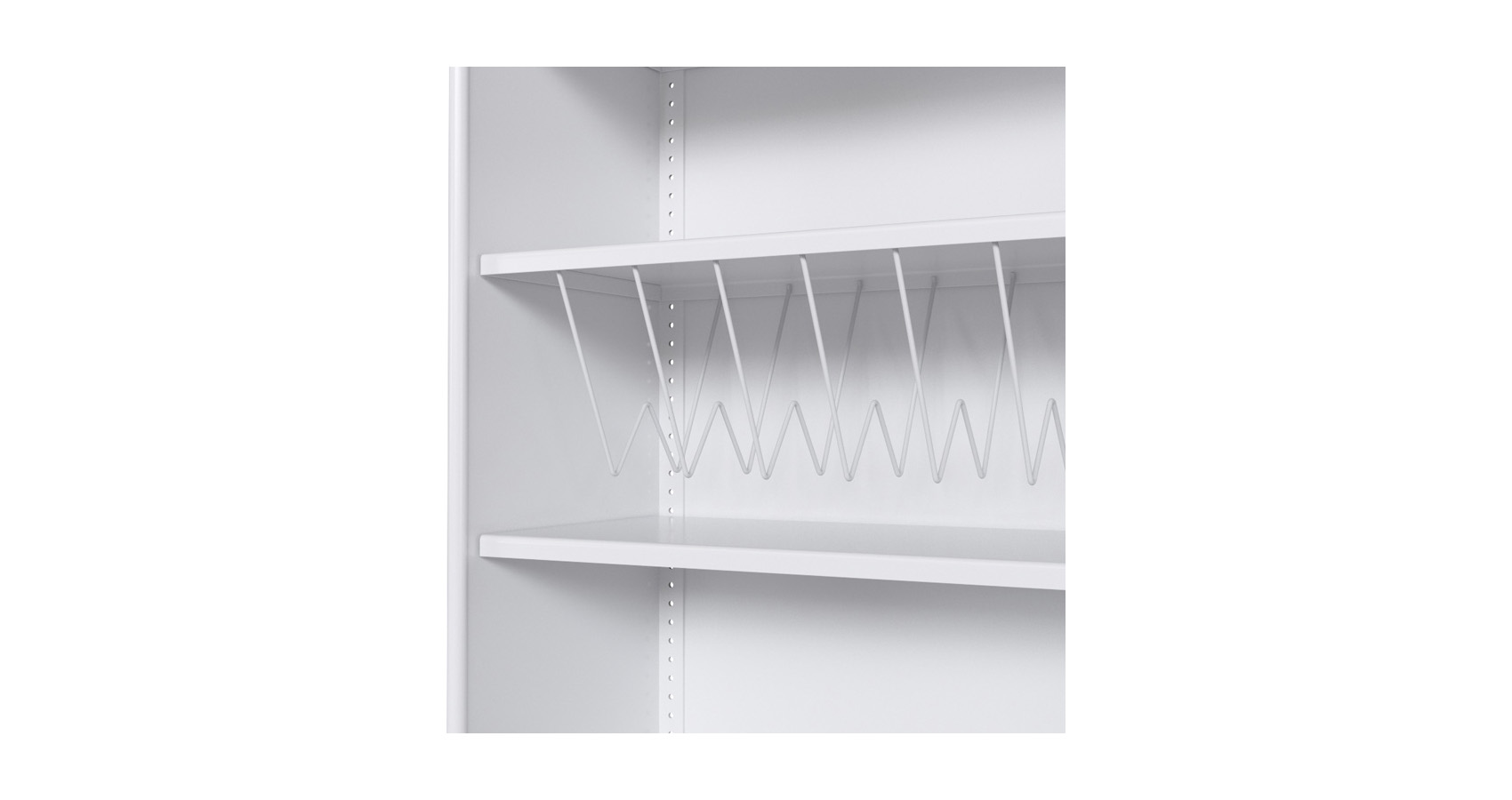 Open Shelving Steel Accessory Suspended Filing Rack