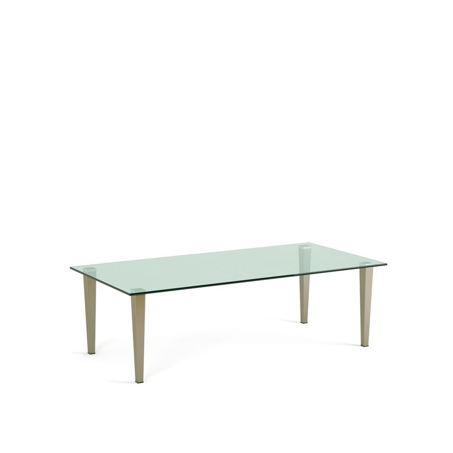 Frameless Glass Coffee Table: Krost Business Furniture