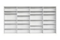 Ultima-Open-Shelving, office shelving, storage