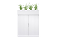Planter, office storage, planter storage, modern storage
