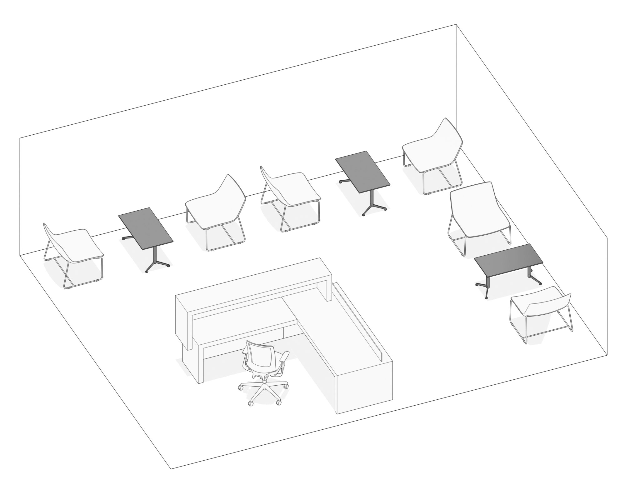 Oslo Coffee Table Krost Business Furniture